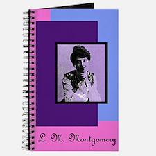 Portrait of L.M. Montgomery - Writer's Notebook