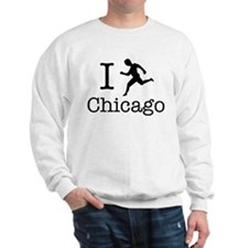 I Run Chicago Sweatshirt