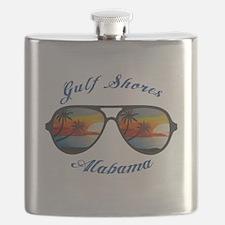 Alabama - Gulf Shores Flask
