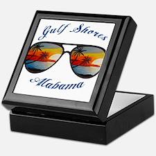 Alabama - Gulf Shores Keepsake Box
