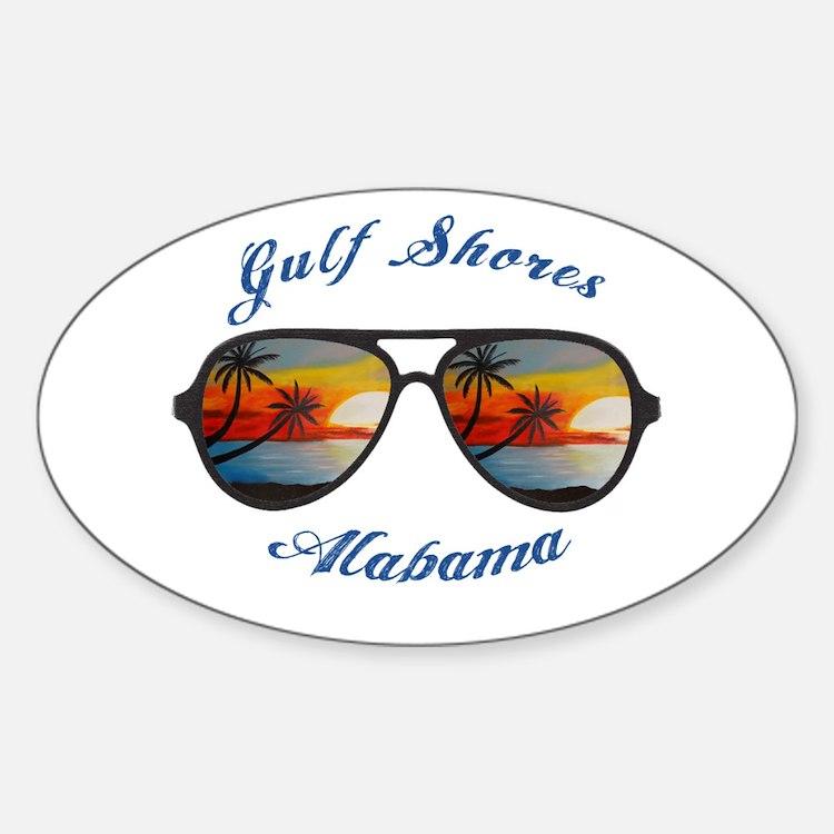 Alabama - Gulf Shores Decal