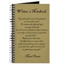 """Mark Twain"" - Writer's Notebook"