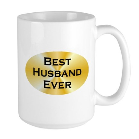 BE Husband Large Mug