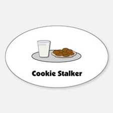 Cookie Stalker Oval Decal