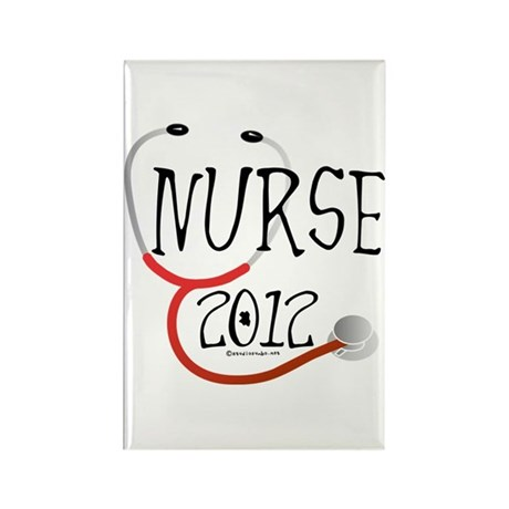 Nurse 2012 Rectangle Magnet