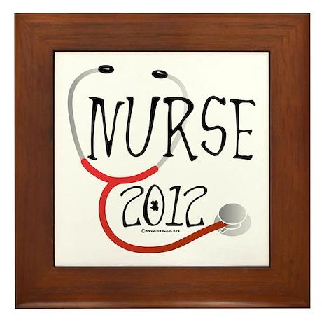 Nurse 2012 Framed Tile