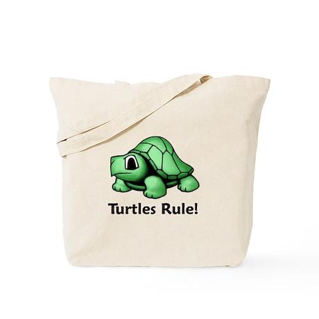Turtles Rule! Tote Bag