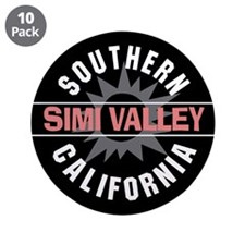 """Simi Valley California 3.5"""" Button (10 pack)"""