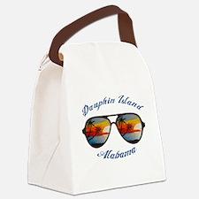 Alabama - Dauphin Island Canvas Lunch Bag