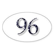96 Smokin Joe Oval Decal
