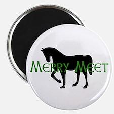 Merry Meet Spirit Horse Magnet
