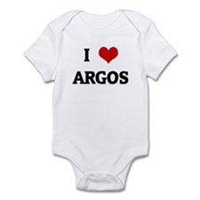 I Love ARGOS Infant Bodysuit
