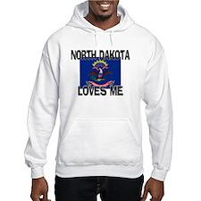 North Dakota Loves Me Hoodie
