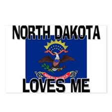 North Dakota Loves Me Postcards (Package of 8)