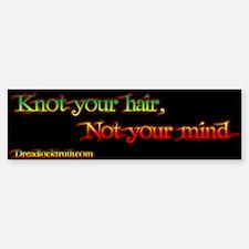 Not your mind sticker