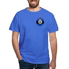 Fire Chief Gold Maltese Cross T-Shirt