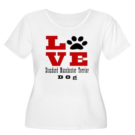 Love Standard Women's Plus Size Scoop Neck T-Shirt