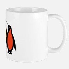 Gay Pride Rainbow Penguins Mug