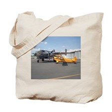 Piper Cub and B-25 Mitchell Tote Bag