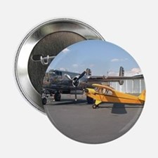Piper Cub and B-25 Mitchell Button