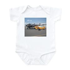 Piper Cub and B-25 Mitchell Infant Creeper