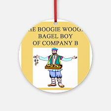 bagel joke Ornament (Round)