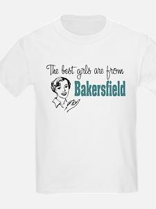 Best Girls Bakersfield Kids T-Shirt