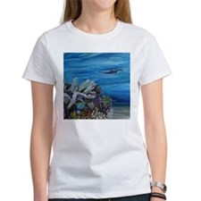 Dolphine and Surgeonfish Tee