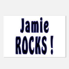 Jamie Rocks ! Postcards (Package of 8)
