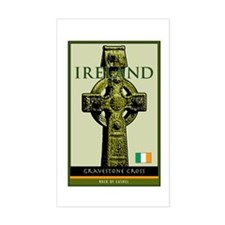 Ireland Rectangle Decal