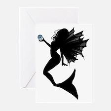 Aquamarine Mermaid Greeting Cards (Pk of 10)