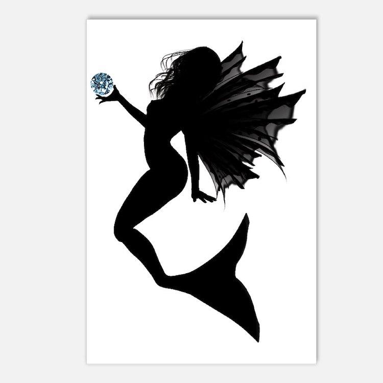 Aquamarine Mermaid Postcards (Package of 8)