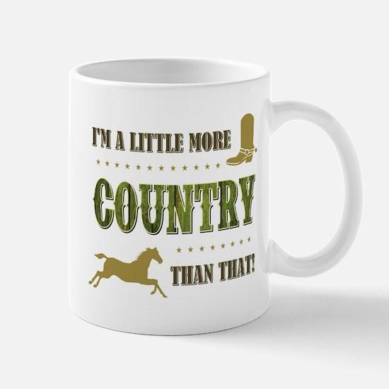 I'M A LITTLE MORE... Mugs