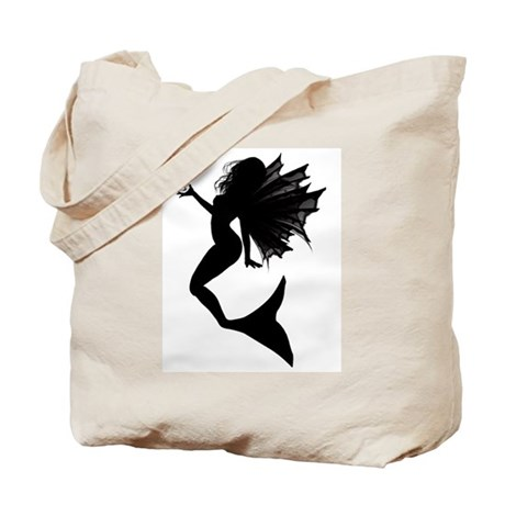 Diamond Mermaid Tote Bag