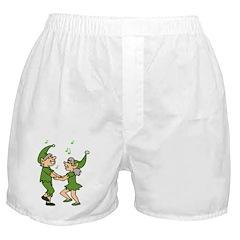 Dancing Elves Boxer Shorts