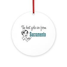 Best Girls Sacramento Keepsake (Round)
