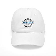 Seal Beach California Baseball Baseball Cap
