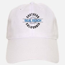 Seal Beach California Baseball Baseball Cap
