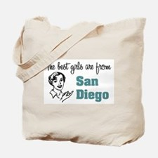Best Girls San Diego Tote Bag