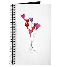 Balloon Hearts Journal