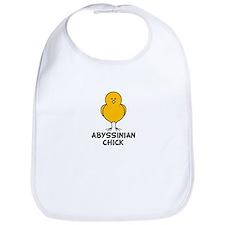 Abyssinian Chick Bib