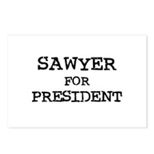 Sawyer for President Postcards (Package of 8)