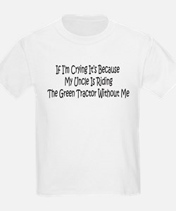 Uncles Green Tractor T-Shirt