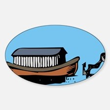 ark and anchor - Masonic Embl Oval Decal
