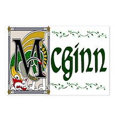 McGinn Celtic Dragon Postcards (Package of 8)