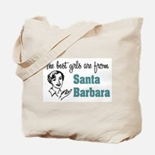 Best Girls Santa Barbara Tote Bag