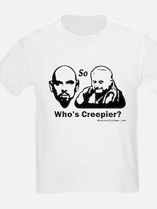 So, Who's Creepier? Kids T-Shirt