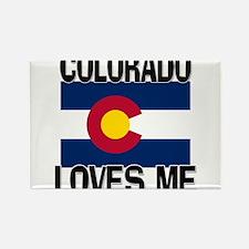 Colorado Loves Me Rectangle Magnet