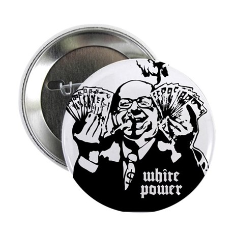 "White Power 2.25"" Button (100 pack)"