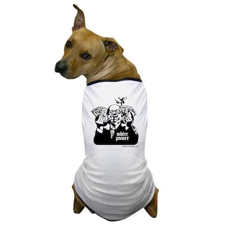 White Power Dog T-Shirt